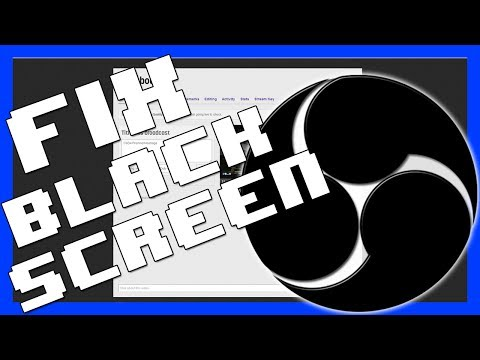 how to fix screen tearing in obs