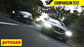 Jaguar XE 25T VS Mercedes C 200 | Comparison Test | Autocar India