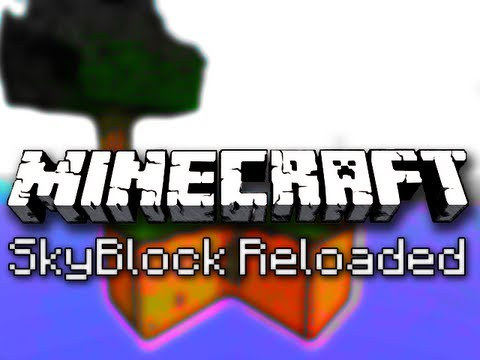 Minecraft: SkyBlock Reloaded Ep. 2 – Land, Ho!