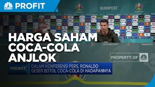 Botol Coca Cola Digeser Ronaldo Harga Saham Coca-Cola Anjlok