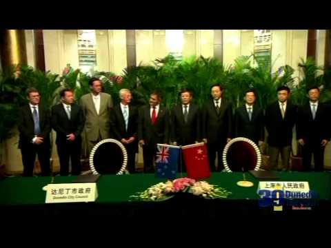 Dunedin-Shanghai Sister City Relationship Continues to Grow - Dunedin City Council