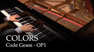 Colors Code Geass Op1 Piano