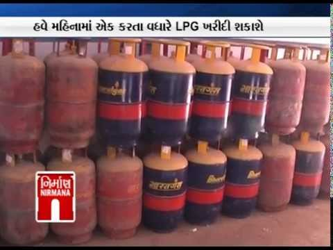 Govt allows yearly quota of 12 LPG cylinders to be taken anytime - Nirmana News