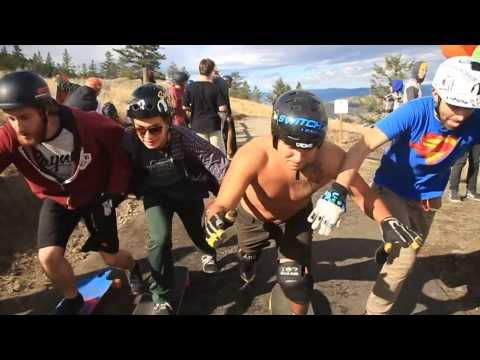 Switchback Longboards, 2014 Mashup: All the Fun Times