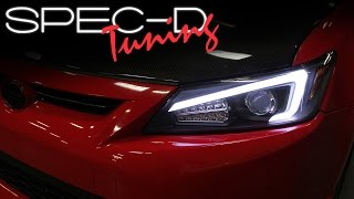 SPECDTUNING INSTALLATION VIDEO: 2011-2013 SCION TC PROJECTOR HEADLIGHTS