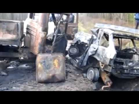 ДТП Слободской район 5 человек погибло. 5.11.2013. Место происшествия