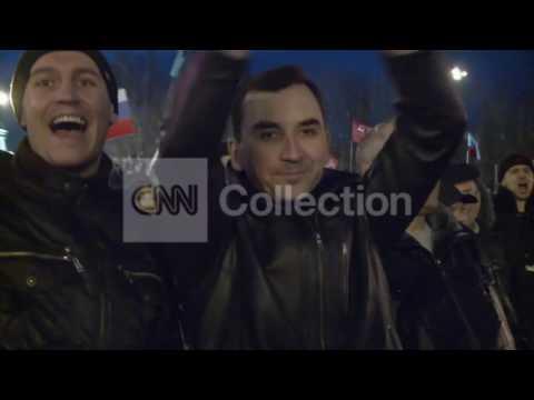 UKRAINE: DONETSK DUELING DEMOS TURNS DEADLY