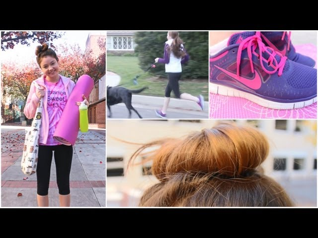 My workout/fitness routine + essentials!