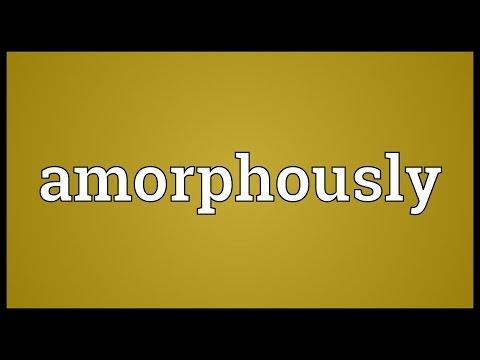 Header of amorphously