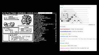 Twitch Plays Pokemon - Twitch VS Blue (FINAL BATTLE) + Ending