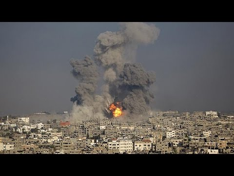 Israeli attacks on Gaza intensify as both sides discuss potential truce