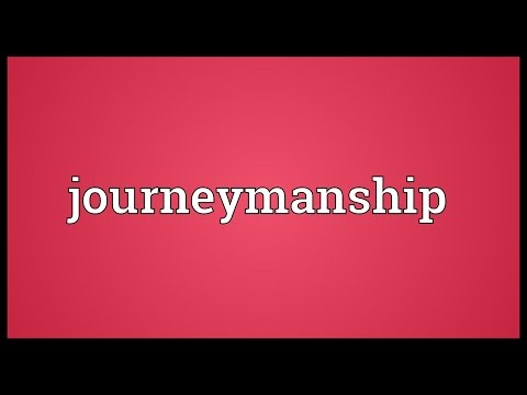 Header of Journeymanship