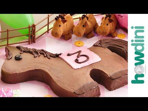 Pony birthday cake - Póniló torta készítése