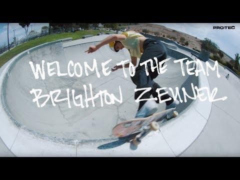 Brighton Zeuner: Welcome To The Team