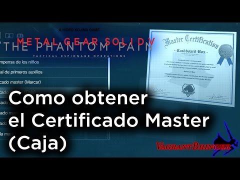 MGSV: TPP - Todas las Facturas en Angola Zaire (Certificado Master - Caja).