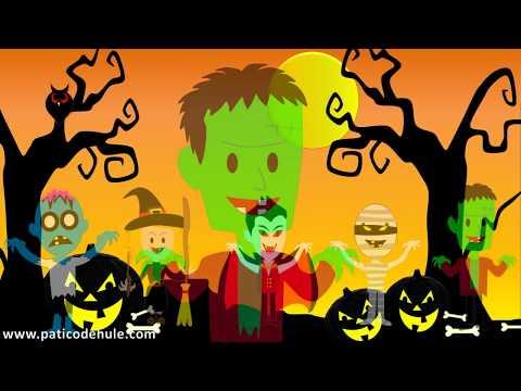 Canción de Halloween para niños -  Halloween Song - Halloween Latino - Halloween Tropical