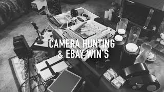Camera Hunting, eBay Wins and My New Adventure - Camera Give Away - Analog Adventures