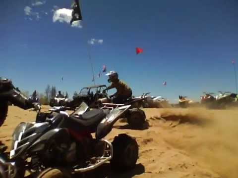 ATV Wheelies at Sand Dunes in Colorado