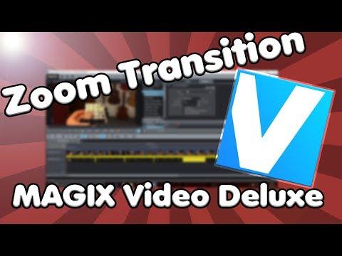 Zoom Transition VORWÄRTS mit MAGIX Video Deluxe | Tutorial und wichtige NEWS