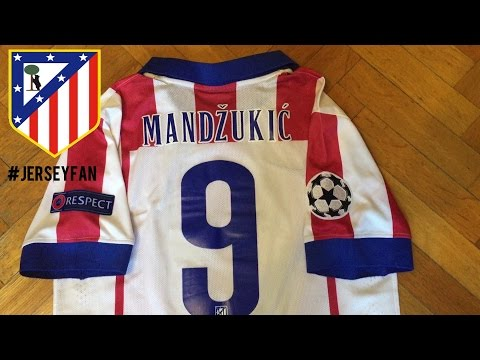 Nike Atletico Madrid | Jersey 2014-2015 Review (Champions League Kit)
