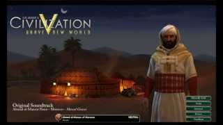 "Civilization V: Brave New World OST - Ahmad al-Mansur Peace - Morocco - ""Mawal Gnawi"""