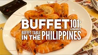 Best Buffets Manila Episode 3: Buffet 101 Longest Buffet Table Philippines by HourPhilippines.com