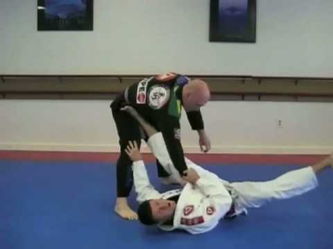 Spider Guard from Closed Guard to Triangle submission Image 1