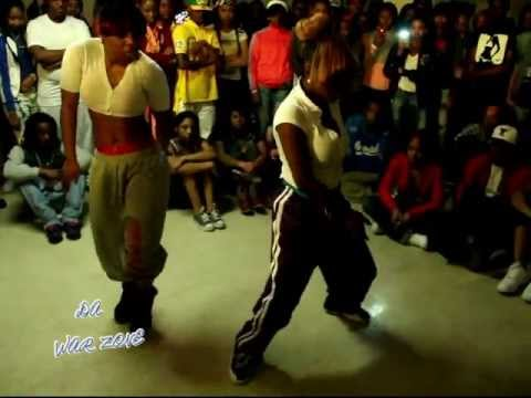 ASHANTI & BABYDOLL vs SHORTY LO & DAE DAE ( WALA CAM ) DA WAR ZONE