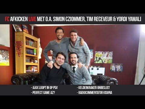 FC AFKICKEN LIVE - Met o.a. Simon Cziommer, Tim Receveur & Yordi Yamali