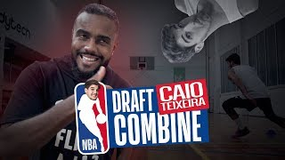 CAIO TEXEIRA NBA DRAFT COMBINE! [ VIDEO OFICIAL ]