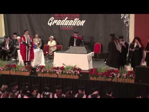 The Blackpool and The Fylde College Graduation Ceremony was a celebration of the hard work and commitment displayed by students to achieve their degrees accredited by either Lancaster University or the University of Salford. This video shows ceremony one in its entirety held on Thursday 10 July 2014 12:00pm.