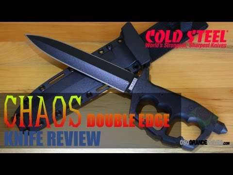 Cold Steel Chaos Double Edge Trench Knife 80NTP Review   OsoGrandeKnives com