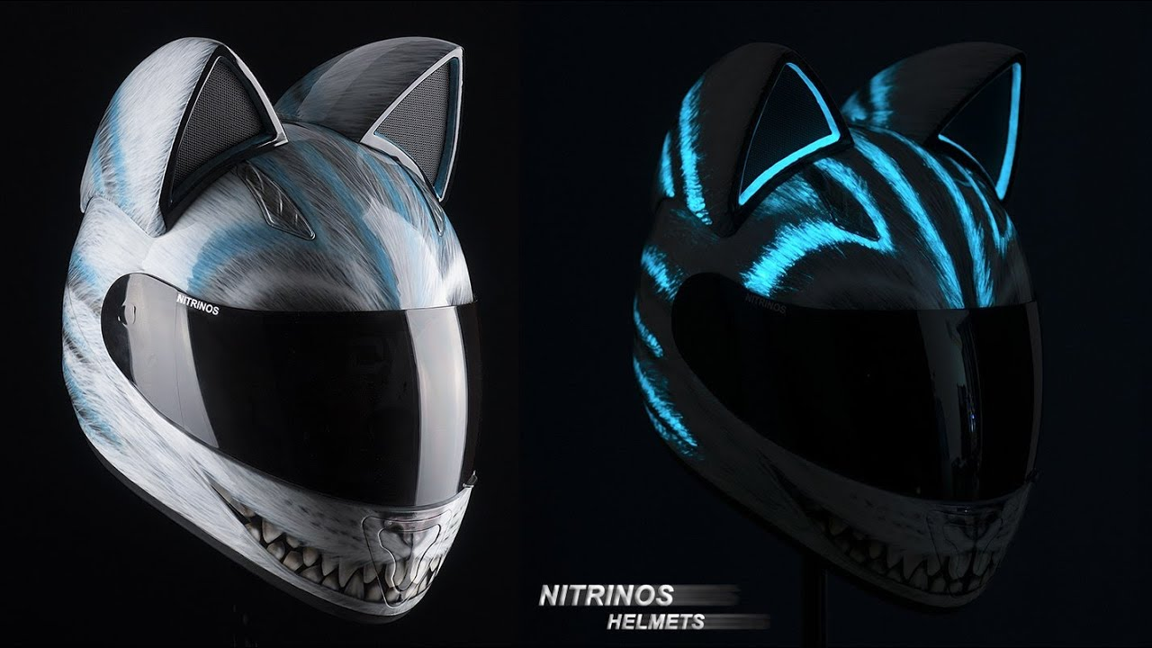 Кошачьи ушки на шлем своими руками