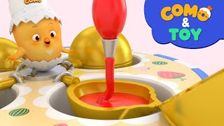 Como | Shaped bread | Learn colors and words | Cartoon video for kids | Como Kids TV