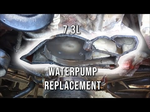 7.3L PSD - How To: Replace Water Pump