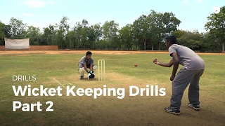 Wicket Keeping Drills - Part 2   Cricket