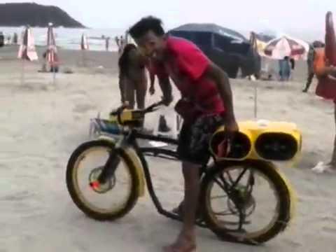 Bicicleta Com Som de Moto Bicicleta Com Som de Moto de