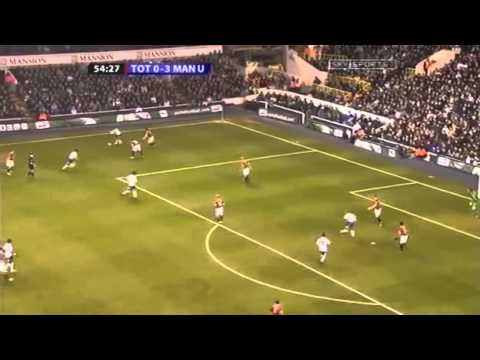 Tottenham Hotspur vs Manchester United 0 - 4 Full Match (Premier League 2006/07) HD