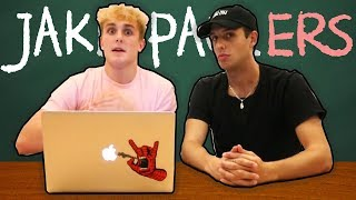 Jake Paul Corrects Our Grammar