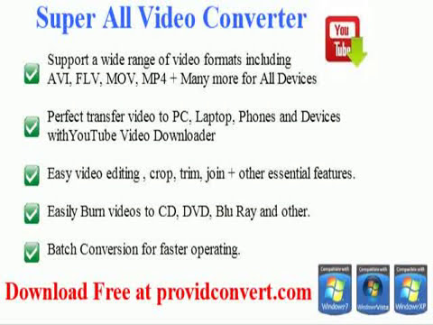 free flash video converter software download