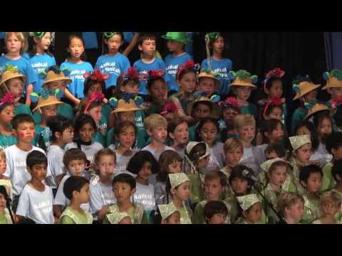 2013 Mission Bay Montessori Academy Spring Sing Highlights: Singing Broadway Musicals Live - 09/05/2014