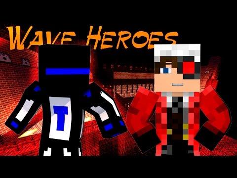 Minecraft Wave Heroes : Вернулись в 2012 год