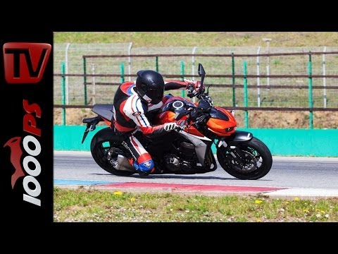 Kawasaki Z1000 2014 - Racetrack Test | Action, Onboard, Fazit