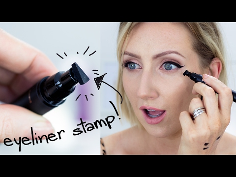 THE WINGED EYELINER STAMP   Sharon Farrell