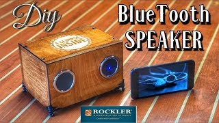 How to Make a Bluetooth Speaker | DIY Project | Rockler Woodworking and Hardware