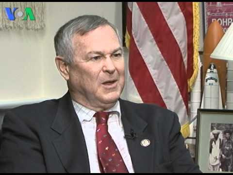 Congressman Dana Rohrabacher on Balochistan and Dr. Shakeel Afridi with VOA's Ayesha Tanzeem