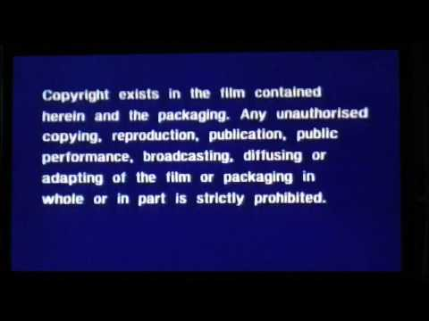 Opening to The Alamo UK VHS (1982)