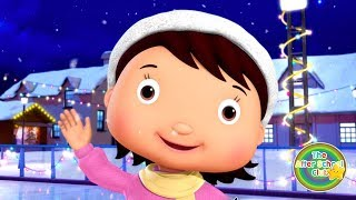 Ice Skating Song! | Songs For Kids | Little Baby Bum | The After School Club