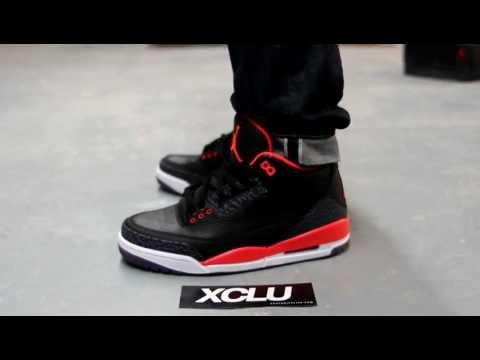 Air Jordan Retro 3 Crimson