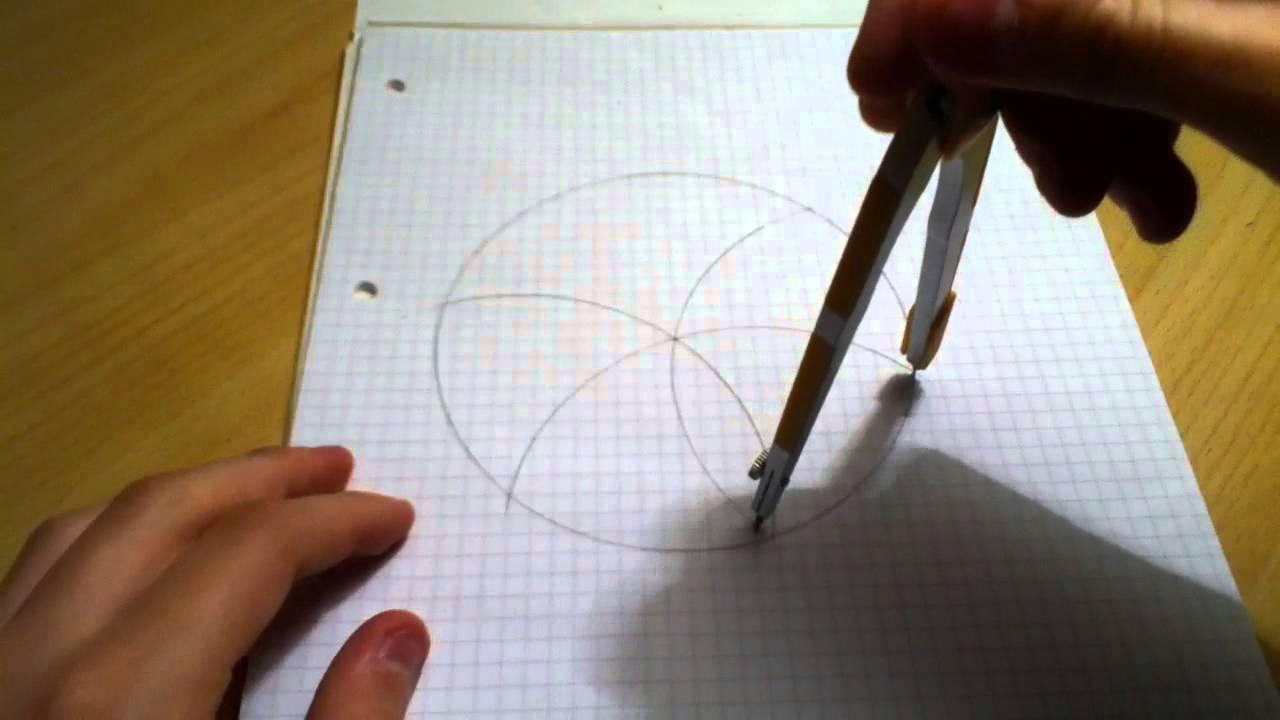 Faire une rosace astuce dessin enfants youtube - Comment faire une rosace trilobee ...